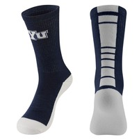 Mojo BYU Cougars Champ 1/2-Cushion Performance Crew Socks - Youth, Size: 7-9 (Blue)