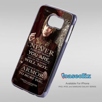 tryion lannister quote game of Thrones For Smartphone Case