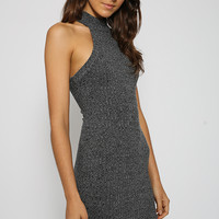 Cold Fox Dress - Charcoal