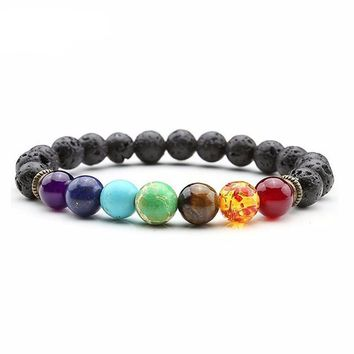 7 Chakra Bracelet Men or Women