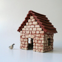 Miniature House / Cottage Brick House