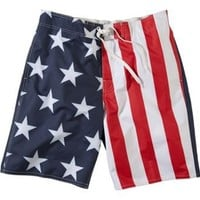 Bass Pro Shops® Stars and Stripes Swim Trunks for Men |  				Bass Pro Shops