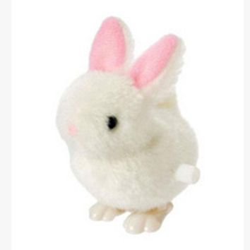New Infant Child toys Hopping Wind Up Easter Bunny Dropship Y720