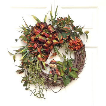 Shimmering Autumn Wreath