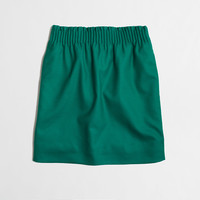 Factory pleated mini : Skirts | J.Crew Factory