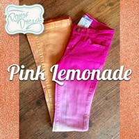 Pink Lemonade Colored Jeans (Youth & Adult) - Ranch Dress'n