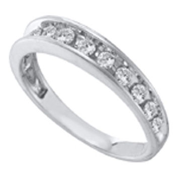 Diamond Fashion Band in 14k White Gold 0.5 ctw