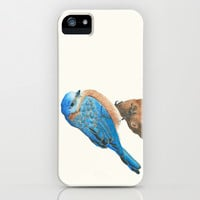 Blue Bird iPhone & iPod Case by haleyivers