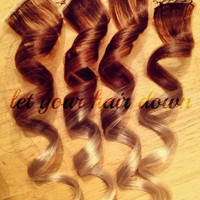"2"" Clip Ombre Hair Extensions"
