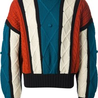Jean Paul Gaultier Vintage Aran knit sweater