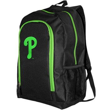 MLB Philadelphia Phillies Neon Tracker Backpack