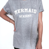 Mermaid Academy Women's Casual T-Shirt