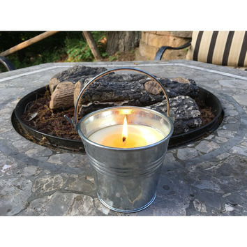 Bella-Citro-Brew Soy/Beeswax Blended Citronella Candles