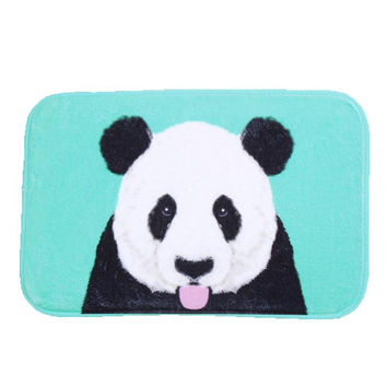 Top Selling High Quality 2016 doormat entrance door mats outdoor Cartoon microfiber bathroom carpet non slip bath mat rugs XT