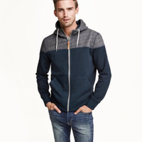 H&M Color-block Hooded Jacket $34.99