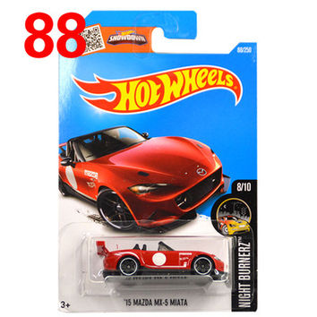 Free Shipping 2016 New Hot Wheels mazda mx5 miata Models Metal Diecast Car Collection Kids Toys Vehicle Juguetes
