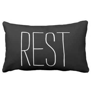 One Word: Rest Pillows