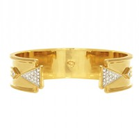 House of Harlow 1960 Jewelry Contemporary Cuff Gold