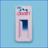 Death iPhone case from MaryJanenite