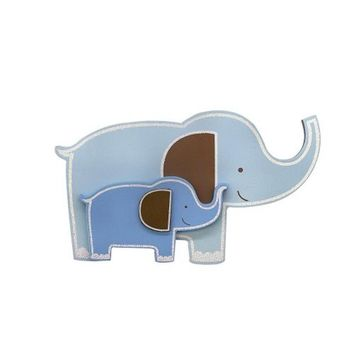 "Babies""R""Us Wooden Nursery Elephant Wall Decor"