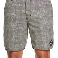 Men's RVCA 'Balanced' Tweed Hybrid Shorts,