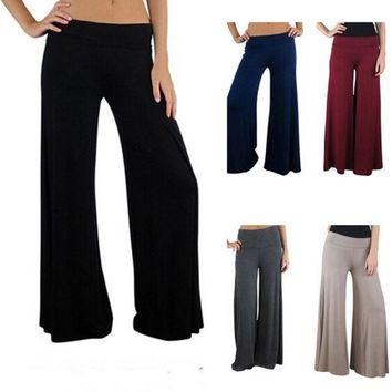 PEAPUG3 Emei Women's Running Yoga Pants Fitness Trousers Loose Style = 1932727364