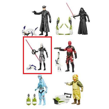 The Inquisitor (Season 1 Star Wars Rebels) Star Wars The Force Awakens Jungle and Space Wave 2