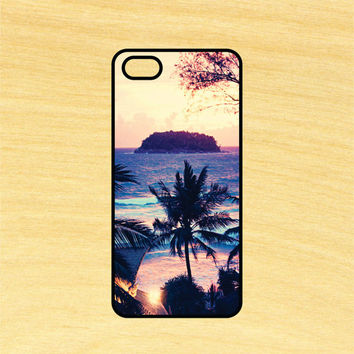 Island Paradise iPhone 4/4S 5/5C 6/6+ and Samsung Galaxy S3/S4/S5 Phone Case