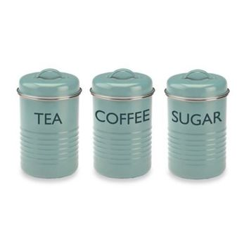 Typhoon® Summer House 3-Piece Canister Set in Blue