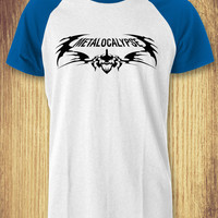 Metalocalypse Baseball Raglan Tee - zLi Unisex Tees For Man And Woman / T-Shirts / Custom T-Shirts / Tee / T-Shirt