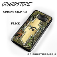 Camo Browning Chevrolet For Samsung Galaxy S6 Case Please Make Sure Your Device With Message Case UY