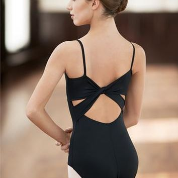 Nylon Camisole Twist Back Leotard | Balera™