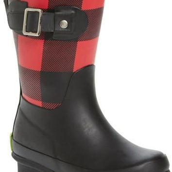 Classic Tall Waterproof Rain Boot (Walker, Toddler, Little Kid & Big Kid)