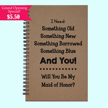 I Need Something Old Something New Something Borrowed - Journal, Book, Custom Journal, Sketchbook, Scrapbook, Extra-Heavyweight Covers