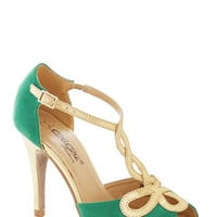 ModCloth Luxe Samba to Talk About Heel