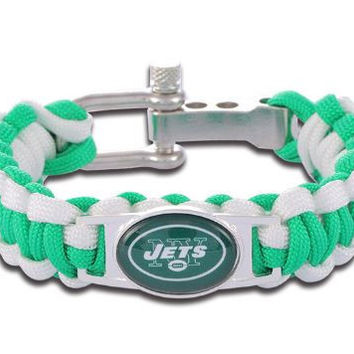 NFL - New York Jets Custom Paracord Bracelet