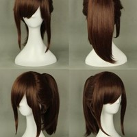 Rulercosplay Attack on Titan (Shingeki No Kyojin) Sasha Blouse Red-brown Anime Cosplay Wig 320e