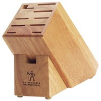 J.A. Henckels International Classic 11-Slot Hardwood Knife Block