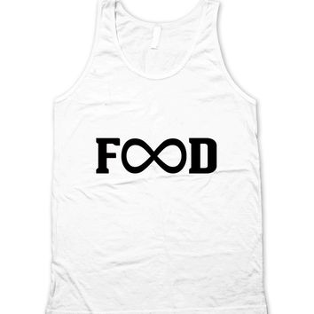 Unlimited Food Forever Infinity Symbol Unisex Tank Top