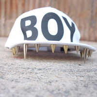 Unisex Boy London Mouth Spike Hat