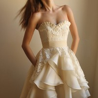 Marlowe Wedding Dress by Leanimal on Etsy