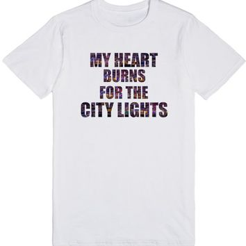 My Heart Burns for the City Lights Las Vegas