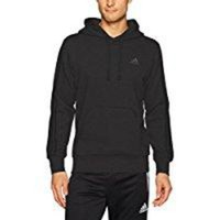 DCCKIN4 adidas Men's Essentials 3-Stripe Pullover Hoodie