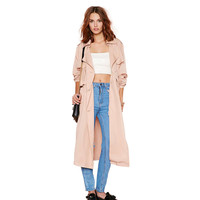 NUDE DUSTER COAT