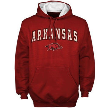 Arkansas Razorbacks Cardinal Automatic Hoodie Sweatshirt