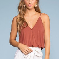 Vacay All Day Top - Brick