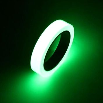 10M * 10mm Luminous Tape Self-adhesive Glow In Dark Safety Warning Tape Antiskid Stage Home Decorations Brand New