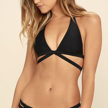 Happy Thought Black Bikini