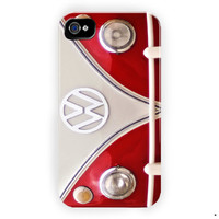 Jeep Vw  Red Front Sport Design For iPhone 4 / 4S Case