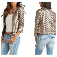 Gold Sequins Jacket